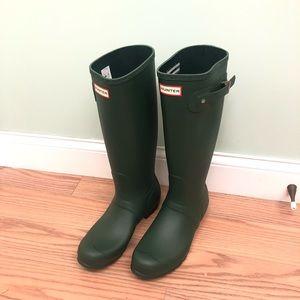 Hunter Rain Boots: Tall : Green (PM811)